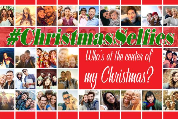 #ChristmasSelfies